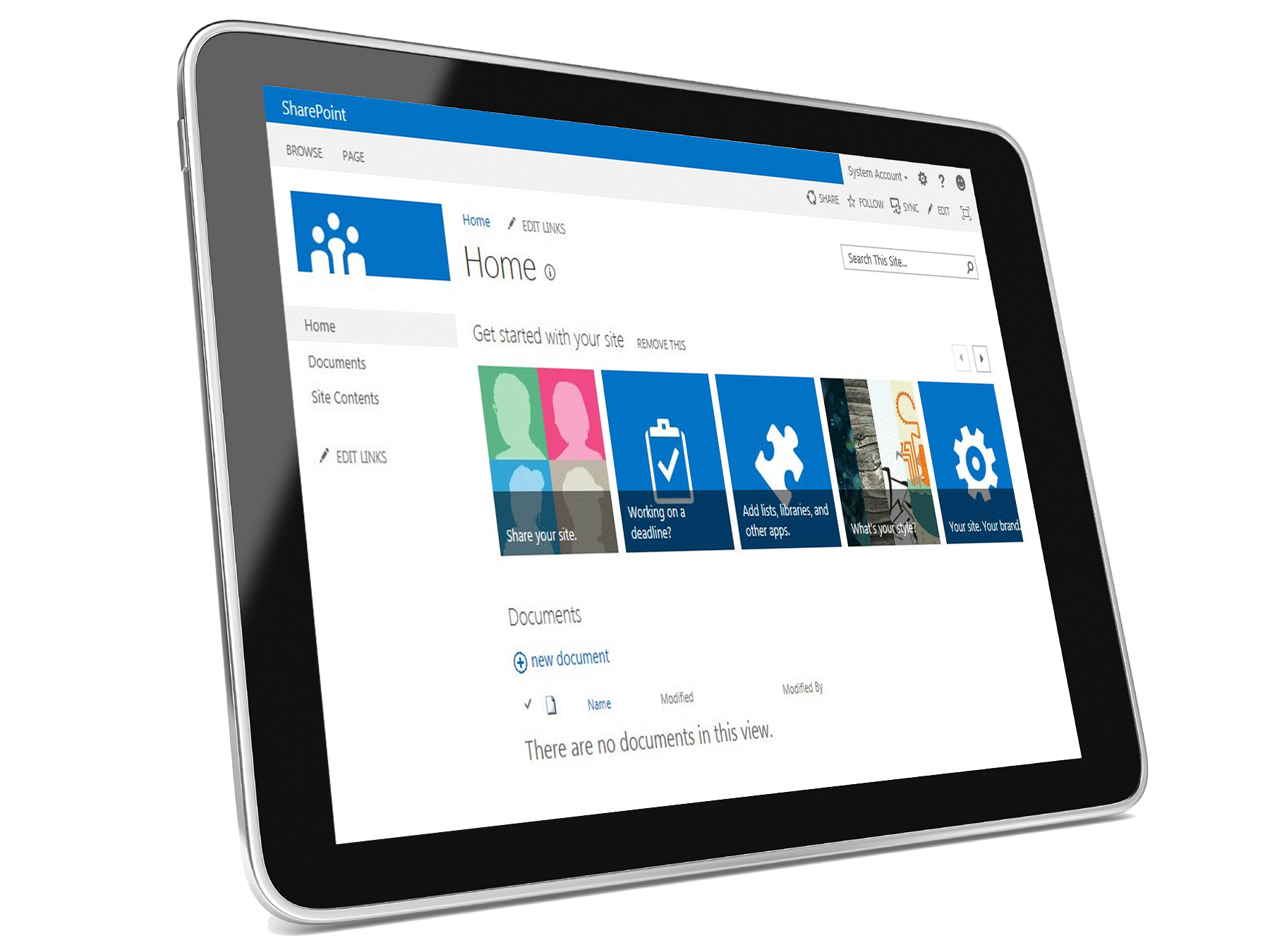 SharePoint-Tablet