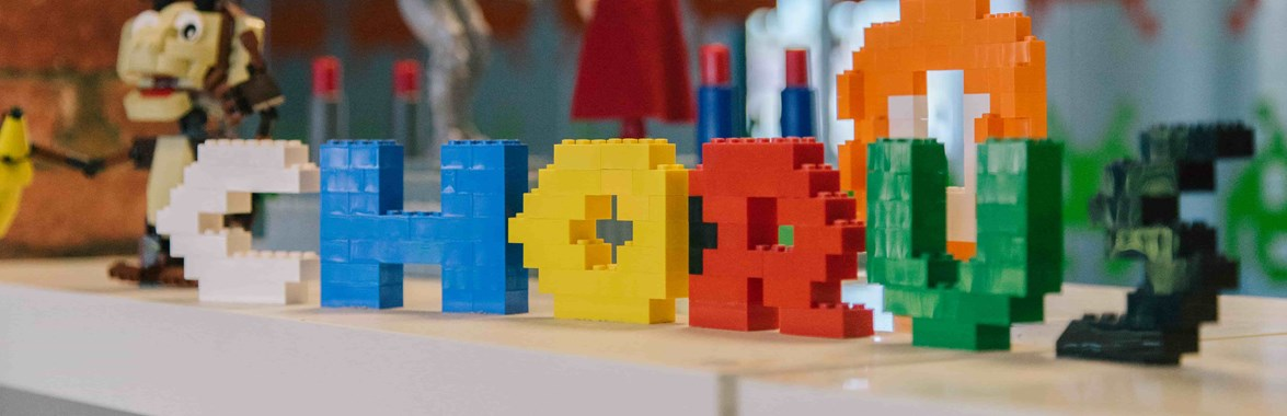 Chorus written in lego