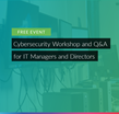 Cybersecurity Workshop Bristol
