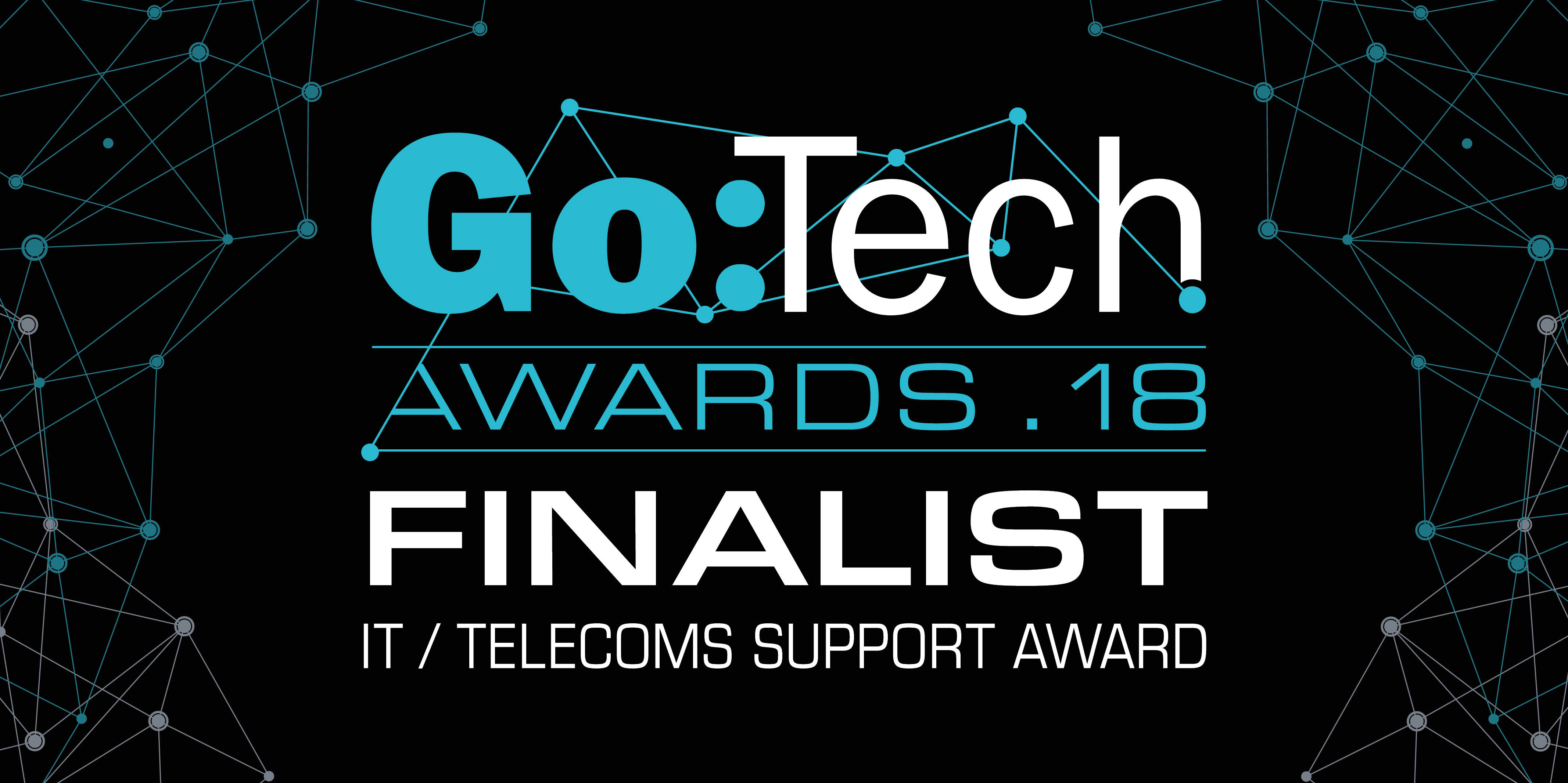 Go:Tech Awards 2018 Finalist Logo