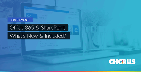 Office 365 and SharePoint Event banner