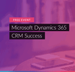 CRM Success Workshop Event banner