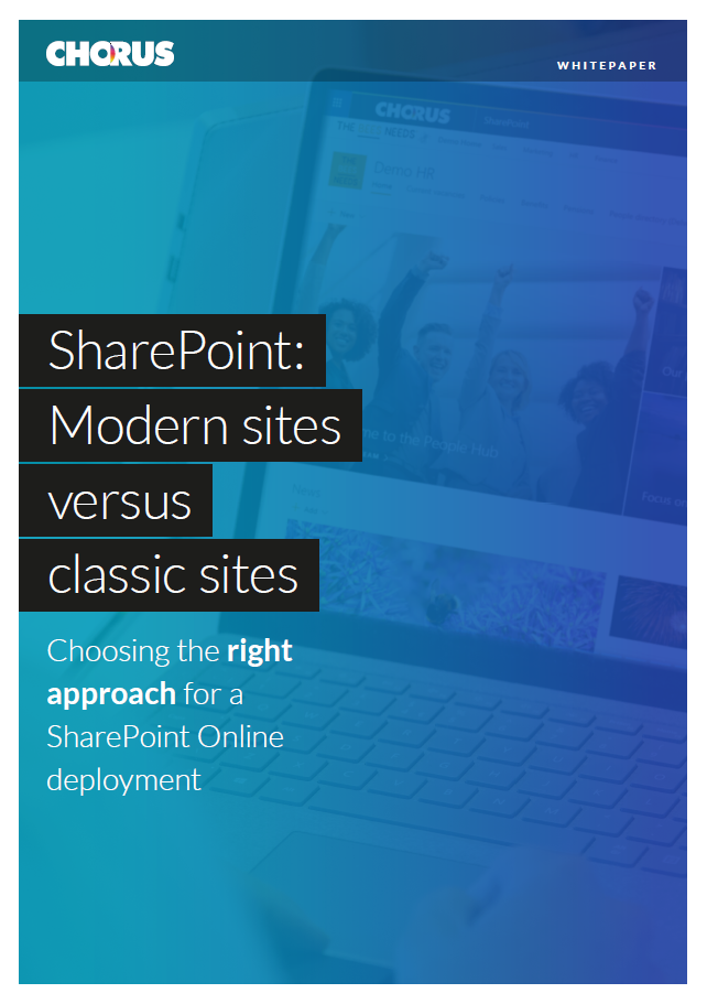 SharePoint Modern vs Classic guide cover