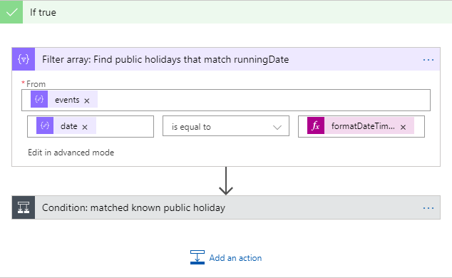 Public holiday check in power automate and logic apps